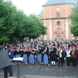 300 Musiker boten ein echtes Klangerlebnis
